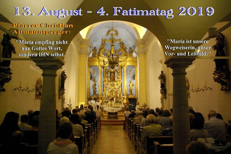 90 P 2019.08.13 4. Fatimatag HH Pf Christian Altmannsperger Co HFri-Mahi