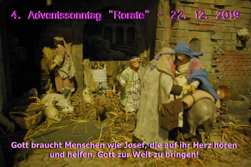 06 P 2019.12.22 4. Adventssonntag - Rorate Co HFri-Mahi
